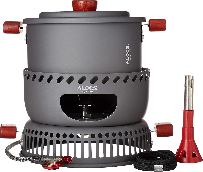 AOASO Outdoor Camping Cooking Pot Sets Portable Hard Anodized Aluminum Cookware Bowl Pot Pan Kits for Backpacking//Hiking//BBQ//Picnic Camping//23pcs