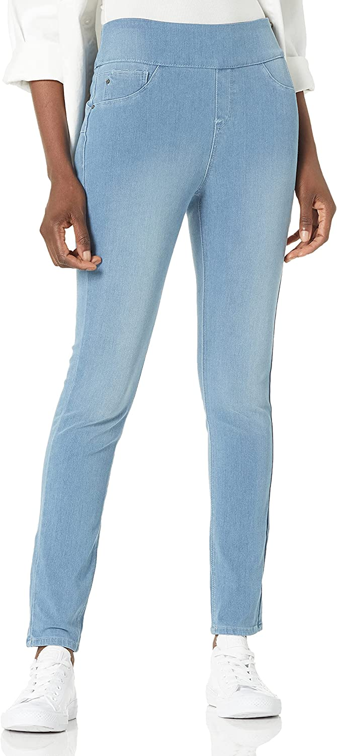 Laurie Felt Women's Cambré Denim Jeans Save money Skinny Pull-on Max 66% OFF Ankle