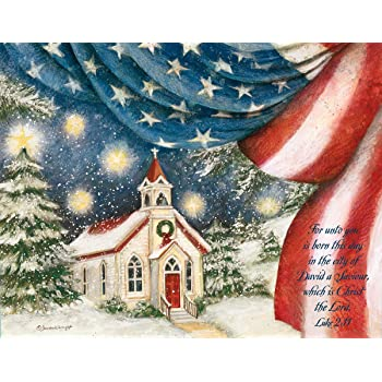 lang an american christmas boxed christmas cards artwork by susan winget