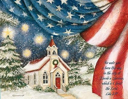 lang an american christmas boxed christmas cards artwork by susan - American Christmas