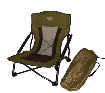 Perfect Crazy Creek Crazy Legs Quad Beach/Festival Chair, Olive Green