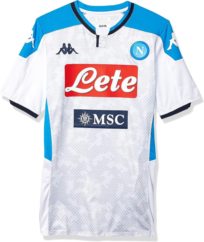 Ssc Napoli Italian Serie A Mens Wind Jacket 2019//2020