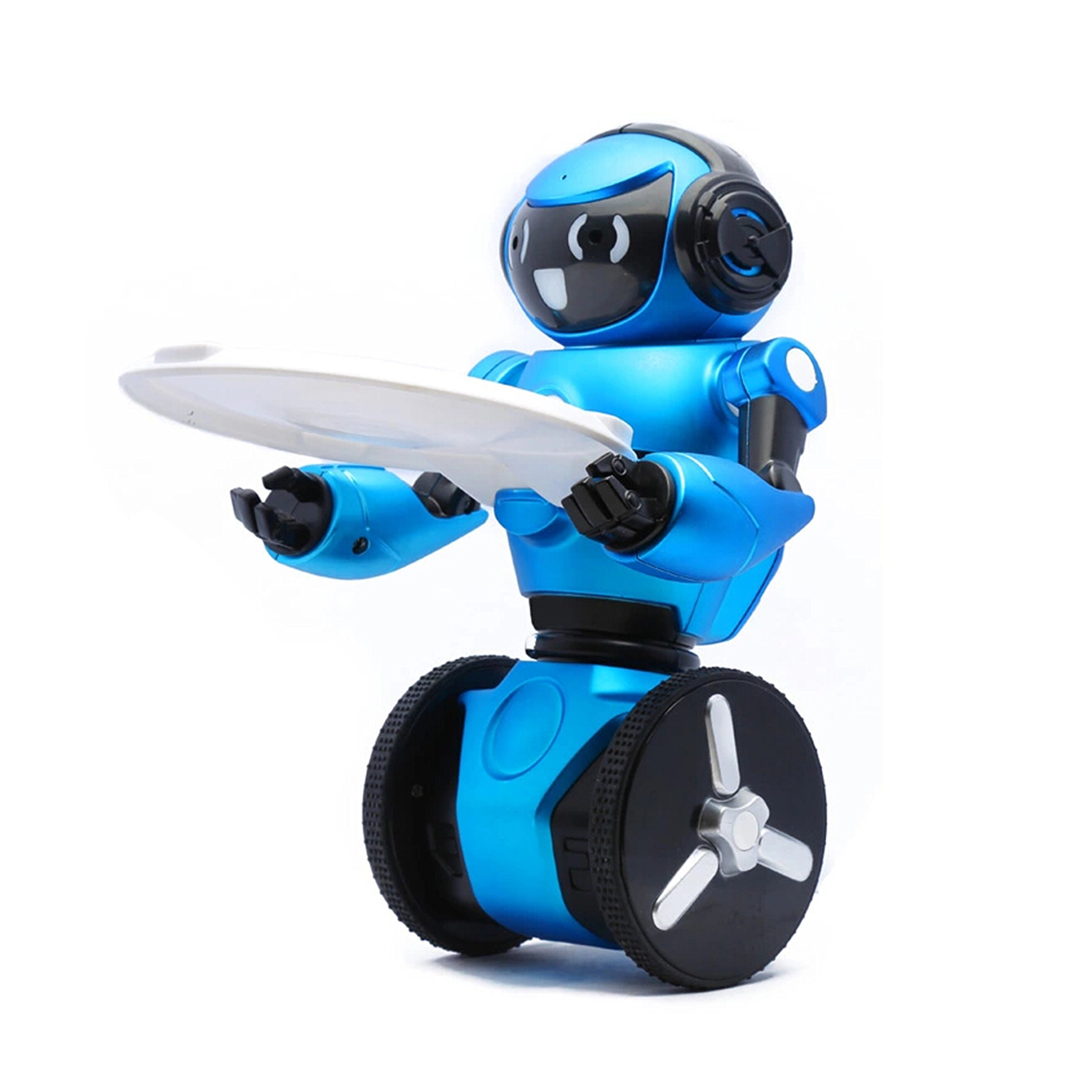 WLToys Intelligent Two Wheels Balance RC Robot Toy with Dance Music Avoidance Human-computer Interaction Mode for Children Kids as a Gift *Colors May Vary. by WLtoys (Image #2)