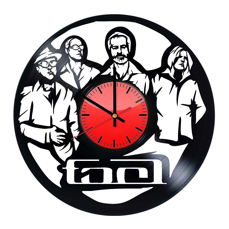 Tool band wall poster Tool music band Vinyl Wall Clock