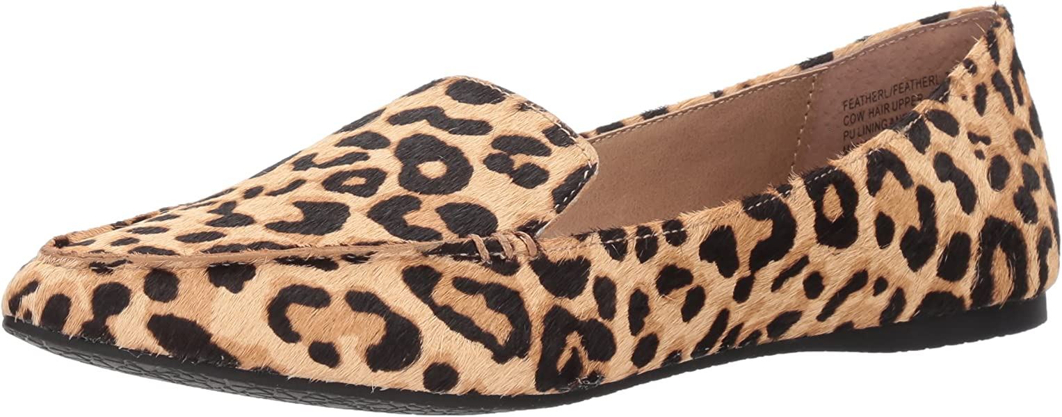 FEATHERL Loafer Flat, Leopard