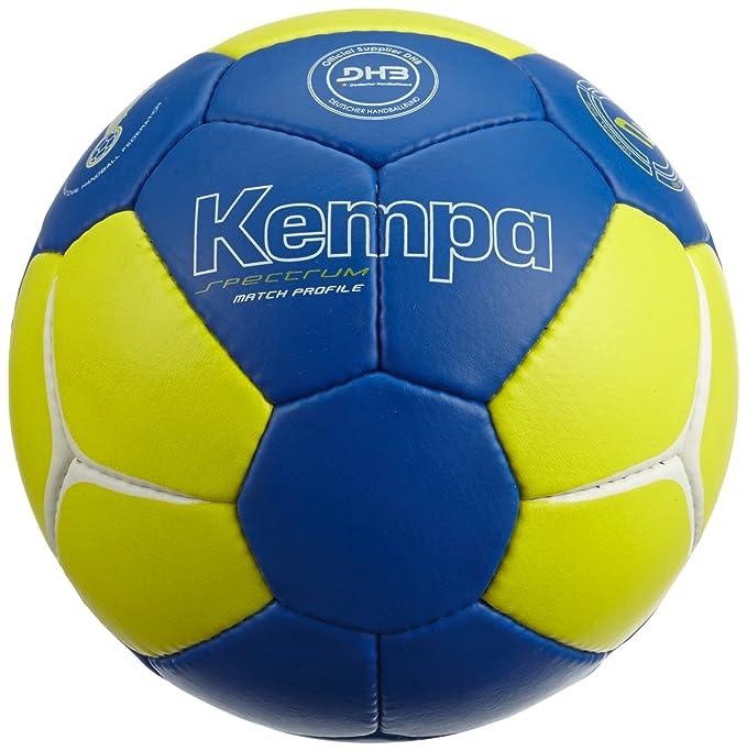 Kempa Balón de Balonmano Spectrum Match Profile Azul/Amarillo ...