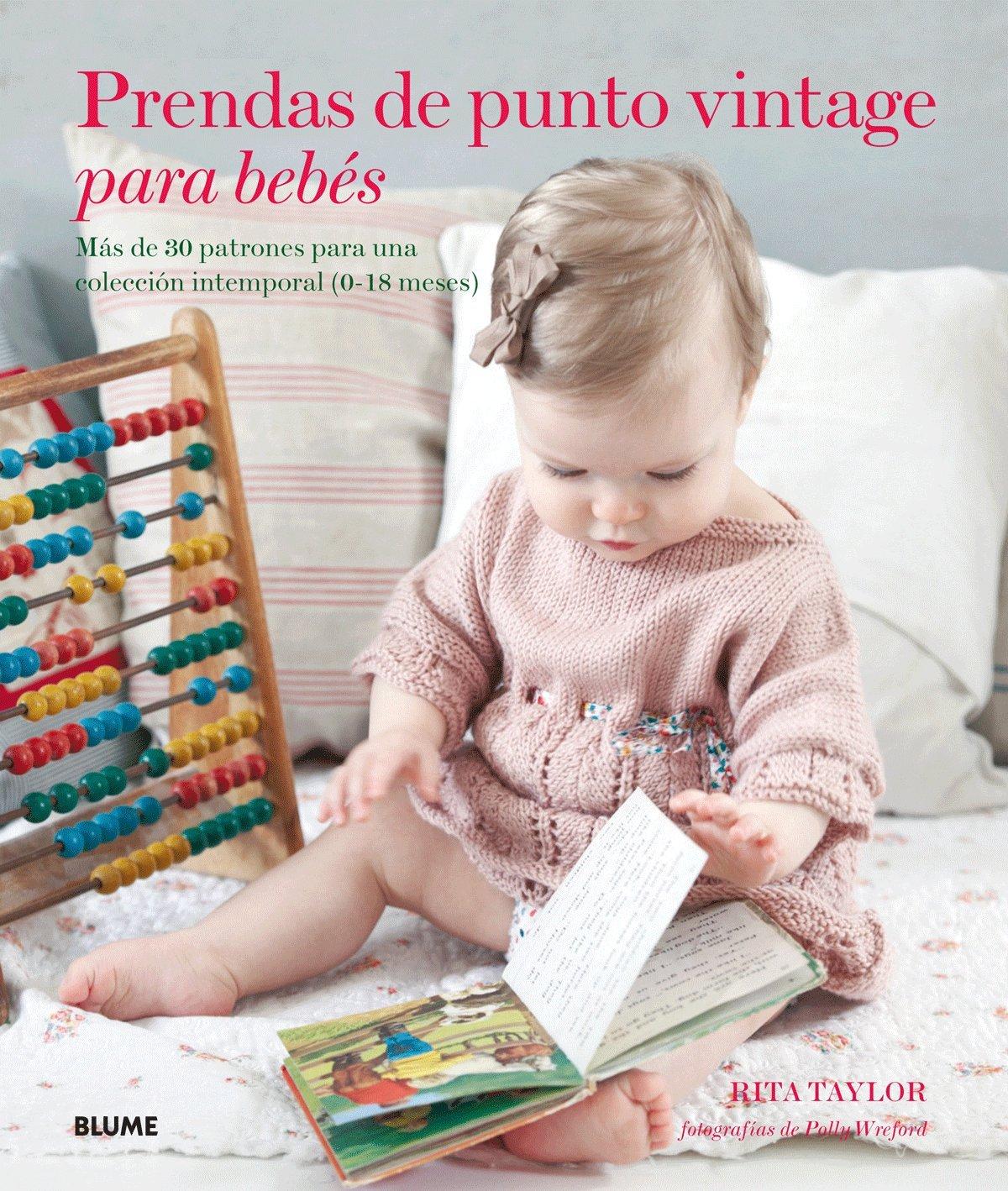 Prendas de punto vintage para bebés: Más de 30 patrones para una ...