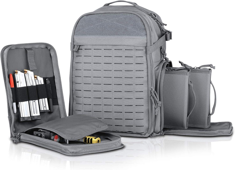 Savior Equipment Mobile Arsenal SEMA 27L Tactical Range Bag Backpack Pistol Case