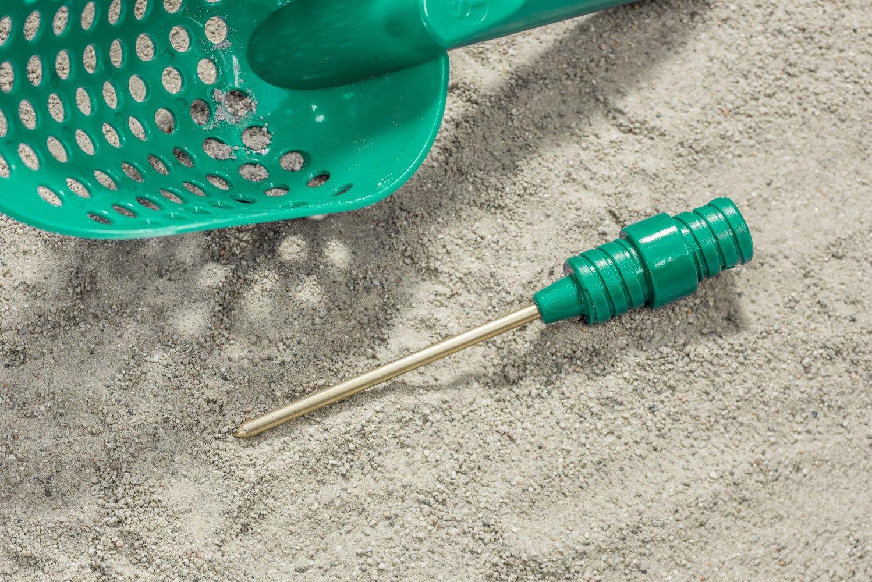 SE GP3-SS20 Prospector Series Green Plastic Sand Scoop for Metal Detecting 1