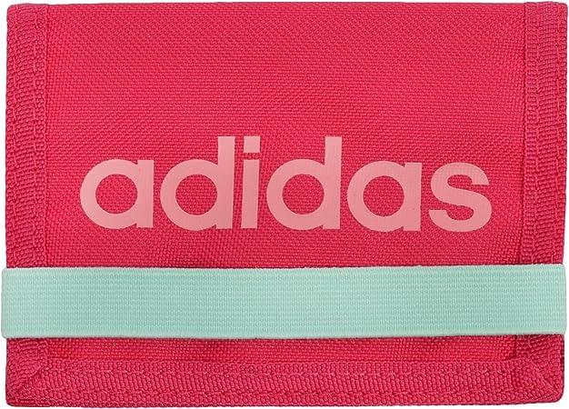 ornamento Trastornado Recuerdo  adidas Performance Linear Women's Bifold Wallet - Pink: Amazon.co.uk:  Luggage