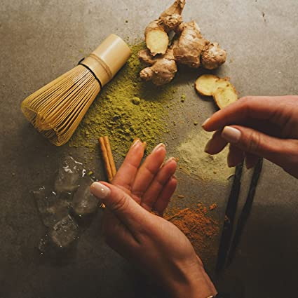 Amazon.com: Onnit Organic Whole-Spice Matcha Chai Latte (240g): Health & Personal Care