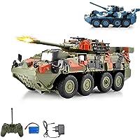 Leopard tanque teledirigido Lucha carro vehículo militar, neumáticos