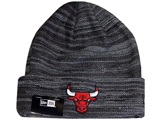 8a1f4e127b3 New Era Beanie Chicago Bulls Shadow tech Knit Black Graphite Storm Grey