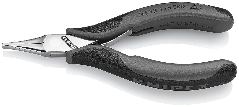Knipex 35 12 115 ESD – Elektronik-Greifzange für feine Montagearbeiten Knipex-Werk - C. Gustav Putsch KG