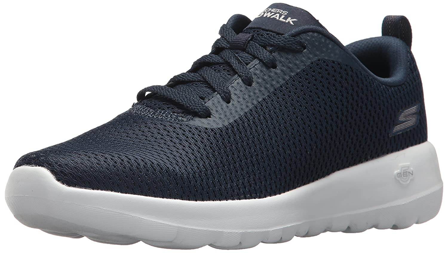 Skechers Performance Woherren Go Walk Joy-Paradise Turnschuhe,Navy Weiß,7 W US