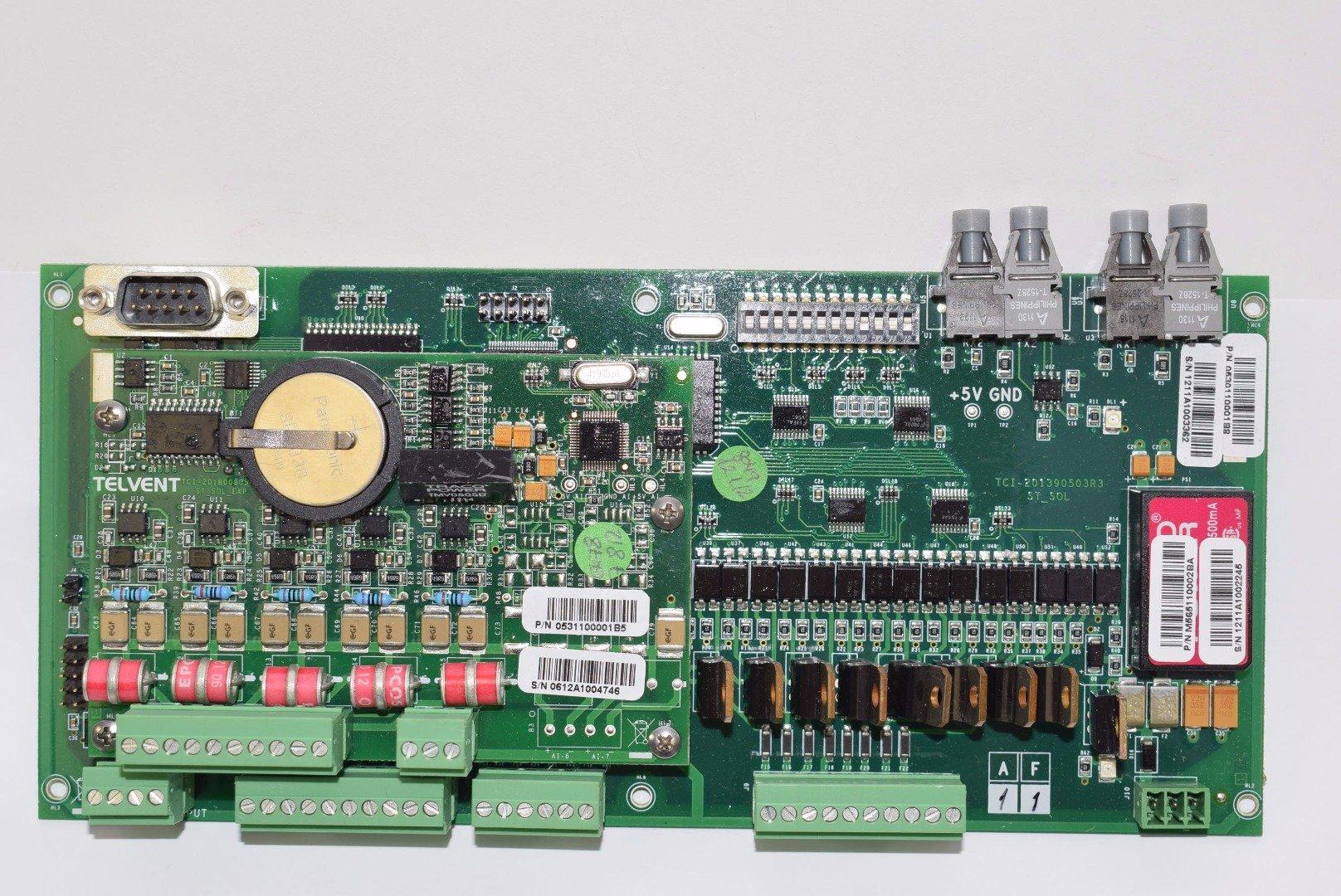 TELVENT PLC 0531100001B5 Switch Control Board, TCI-201390503R3