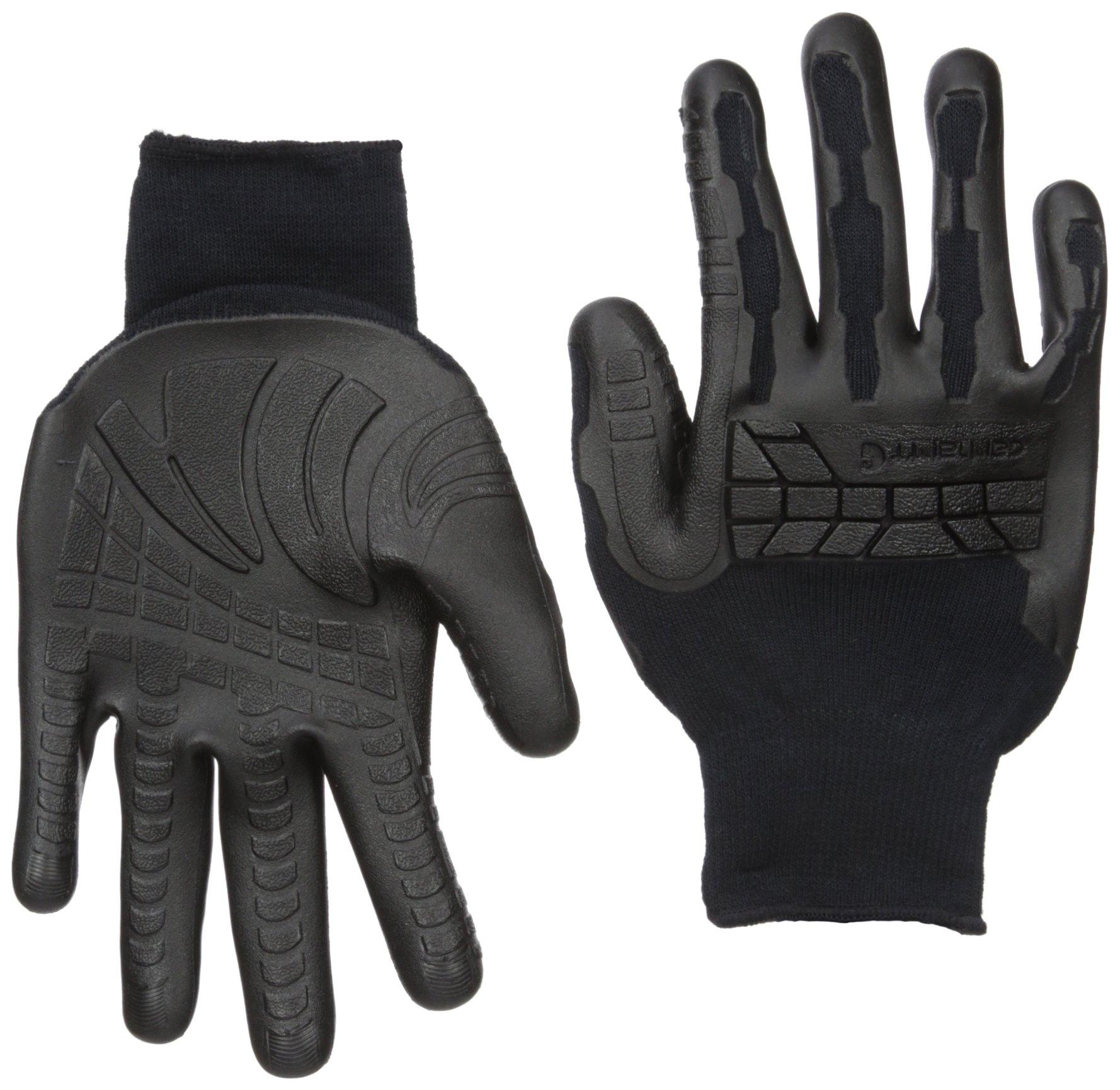 Carhartt Men's Ergo Knuckler Glove, black, X-Large by Carhartt (Image #1)