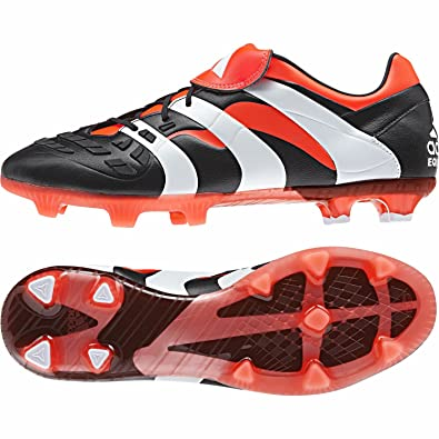 1c1357ac3ea5 Adidas Men's Predator Accelerator Fg Core Black, Core White and Solar Red  Football Boots - 8 UK: Buy Online at Low Prices in India - Amazon.in