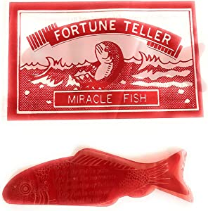Wholesale Vending Products 144 Fortune Teller Miracle Fish Fortune Telling Fish in Individual Envelopes