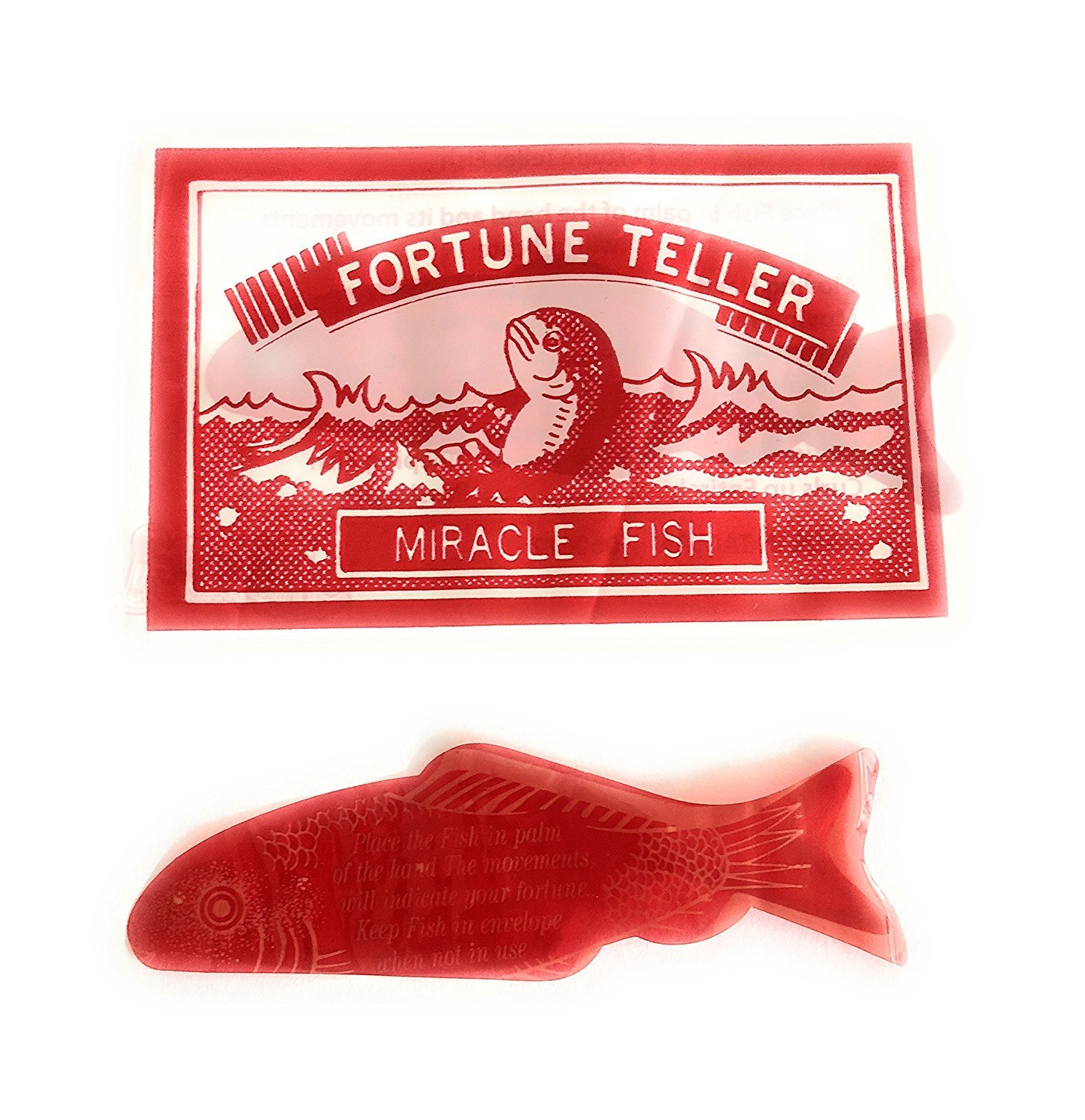 144 Fortune Teller Miracle Fish Fortune Telling Fish In Individual Envelopes Wholesale Vending Products