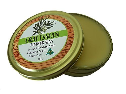 Austalian Wood Wax - Craftsman Timber Wax 80g