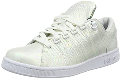 K-Swiss Damen Lozan III TT Reptile Sneakers, Weiß (White/Black 102), 39 EU