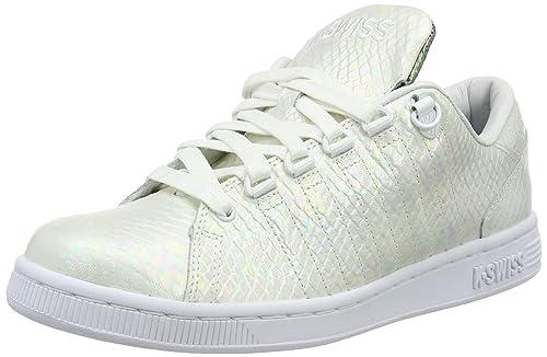 Womens Lozan III Tt Reptile Low-Top Sneakers, Wei?/Schwarz K-Swiss