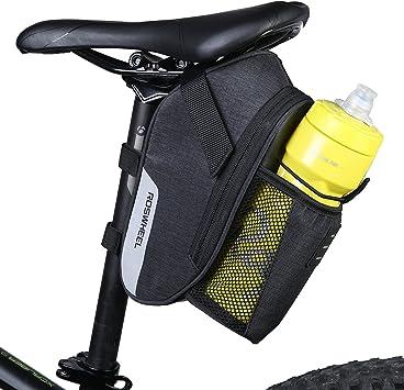 dccn bicicleta marco bolsa sillín bolsa portaequipajes funda para ...
