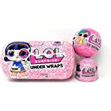 L.O.L. Surprise! Under Wraps Eye Spy Series 4-1 Bundle with LOL Lil Sister Wave 2 and Fashion Crush