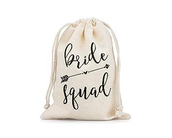Fun Bride Squad Gift Bags 10 pcs 5 quot  x 7 quot  Survival Kit Bachelorette  Party bafdbf6ae21c