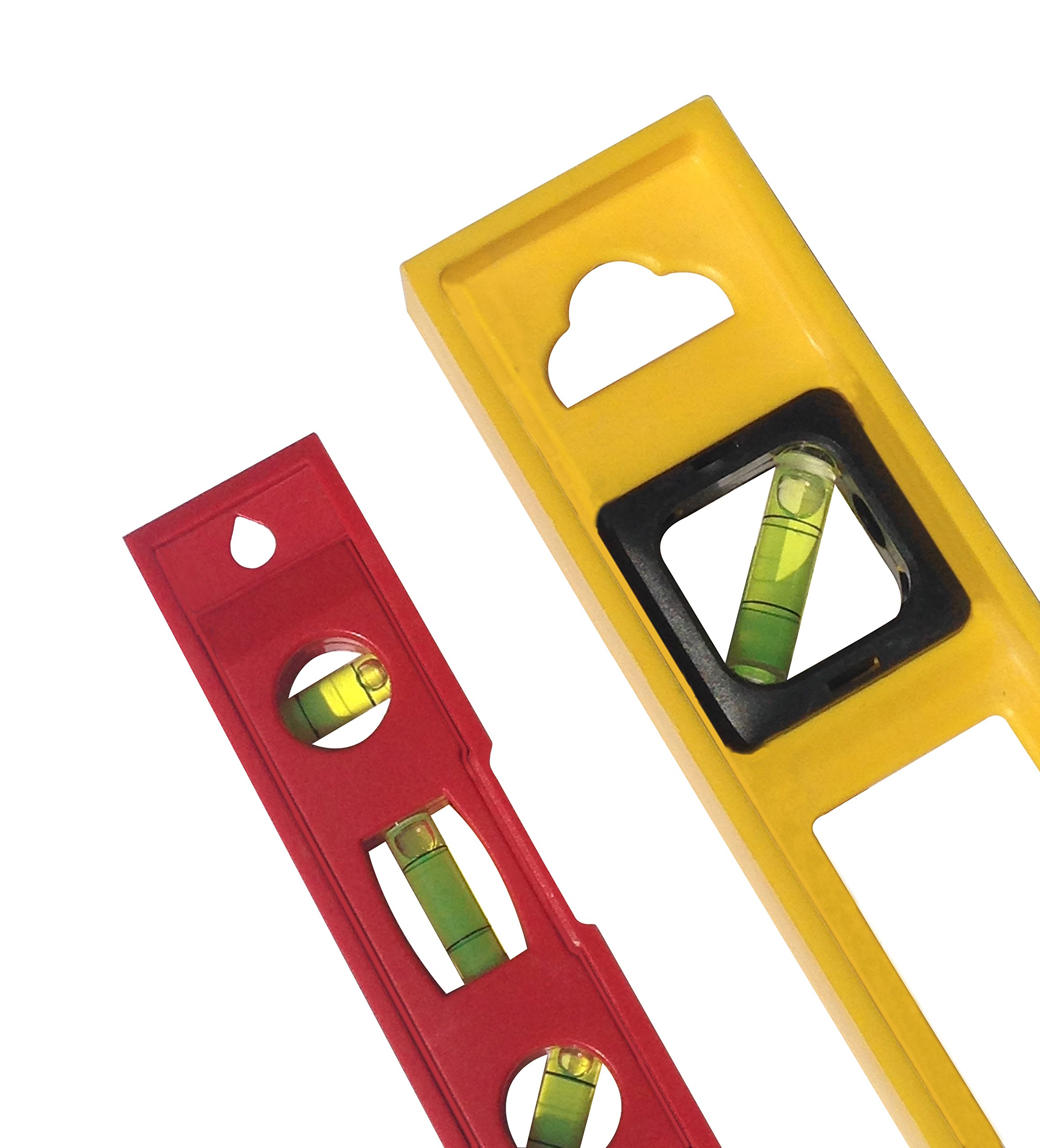 24 Inch and 6 Inch 3 Bubble Torpedo Level Pack Home or Jobsite Approved by Straight and Narrow (Image #3)
