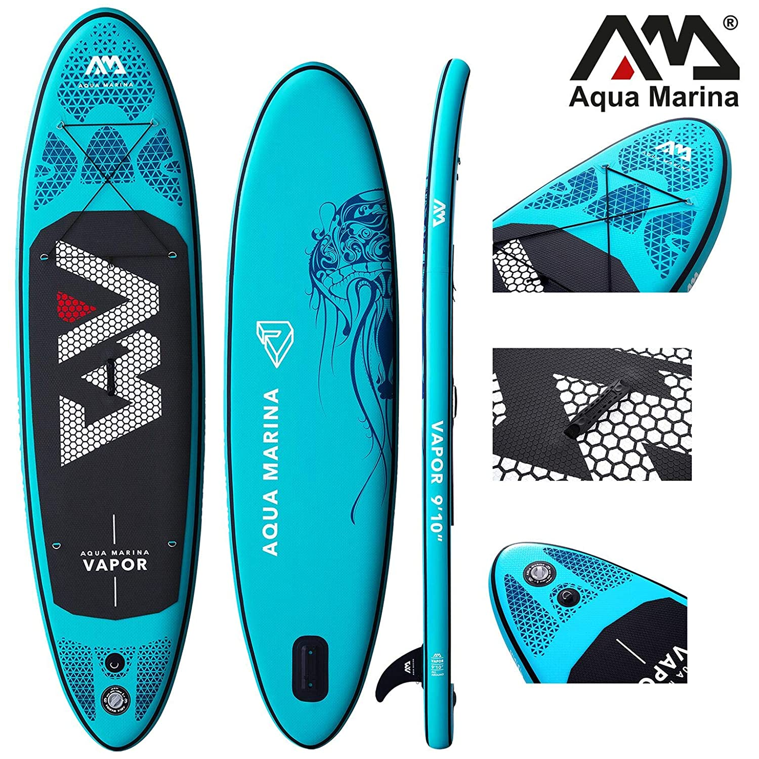 Aqua Marina Vapor 2019 Sup - Tabla de Surf (Hinchable), Board+Carbon Paddle: Amazon.es: Deportes y aire libre