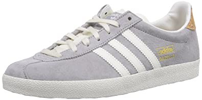 adidas Gazelle OG, Damen Sneakers, Grau (MGH Solid Grey/Off White ...