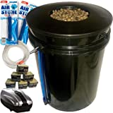 The Atwater HydroPod - DWC Deep Water Culture Garden System Kit - 5 Gallon Bubble Bucket - Bubbleponics - (Without Nutrients)