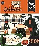 Echo Park Paper Company Trick Or Treat ephemera, orange, black, green, grey