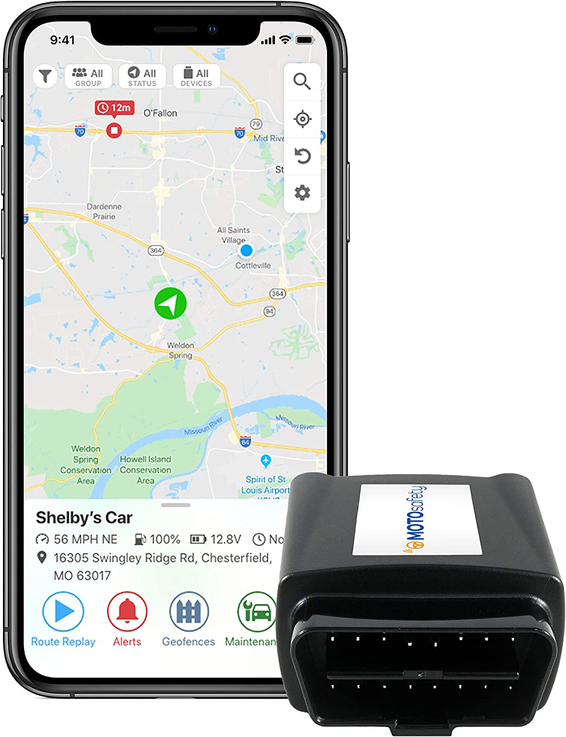 GPS Tracker for Vehicles Car Tracker Realtime Tracking 60 Days Standby 4G Hidden GPS Locator for Seniors Travel Kids Bicycles Vehicle Cars