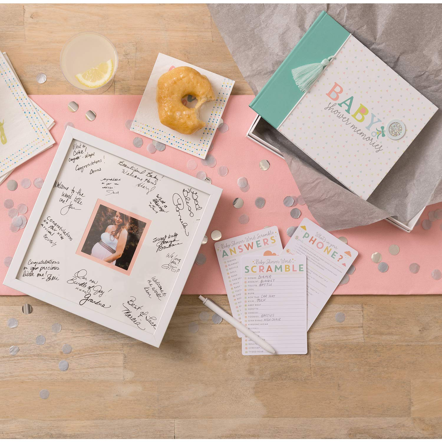 C.R Gibson Signature Baby Photo Frame 10 x 10