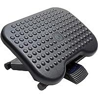 HUANUO Adjustable Under Desk Footrest - Ergonomic Foot Rest with 3 Height Position - 30 Degree Tilt Angle Adjustment for…