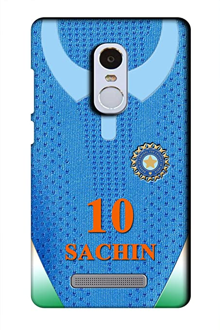 save off 4a6b9 17818 AMAN Sachin 10 3D Back Cover for Xiaomi Redmi Note 3: Amazon.in ...