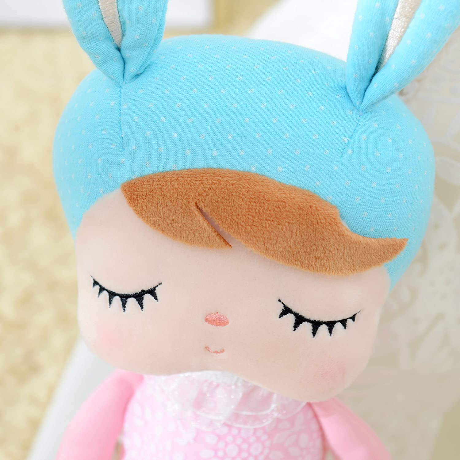 Me Too Angela Stuffed Bunny Baby Plush Rabbit Doll Gifts for Girls