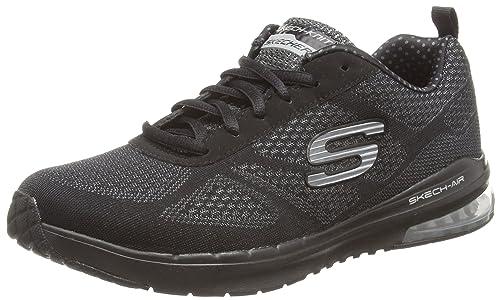 Skechers Skech-Air Infinity - Zapatilla Deportiva de Lona Mujer: Amazon.es: Zapatos y complementos
