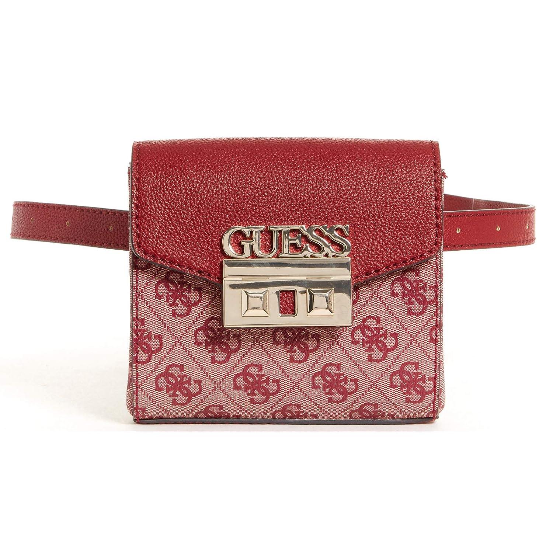 Amazon.com: Guess Logo Luxe - Bolso para cinturón para mujer ...