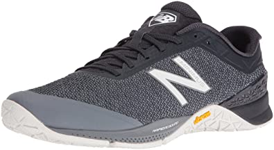 New Balance Men\u0027s MX40V1 Gym Workouts Training Shoe, Grey, ...