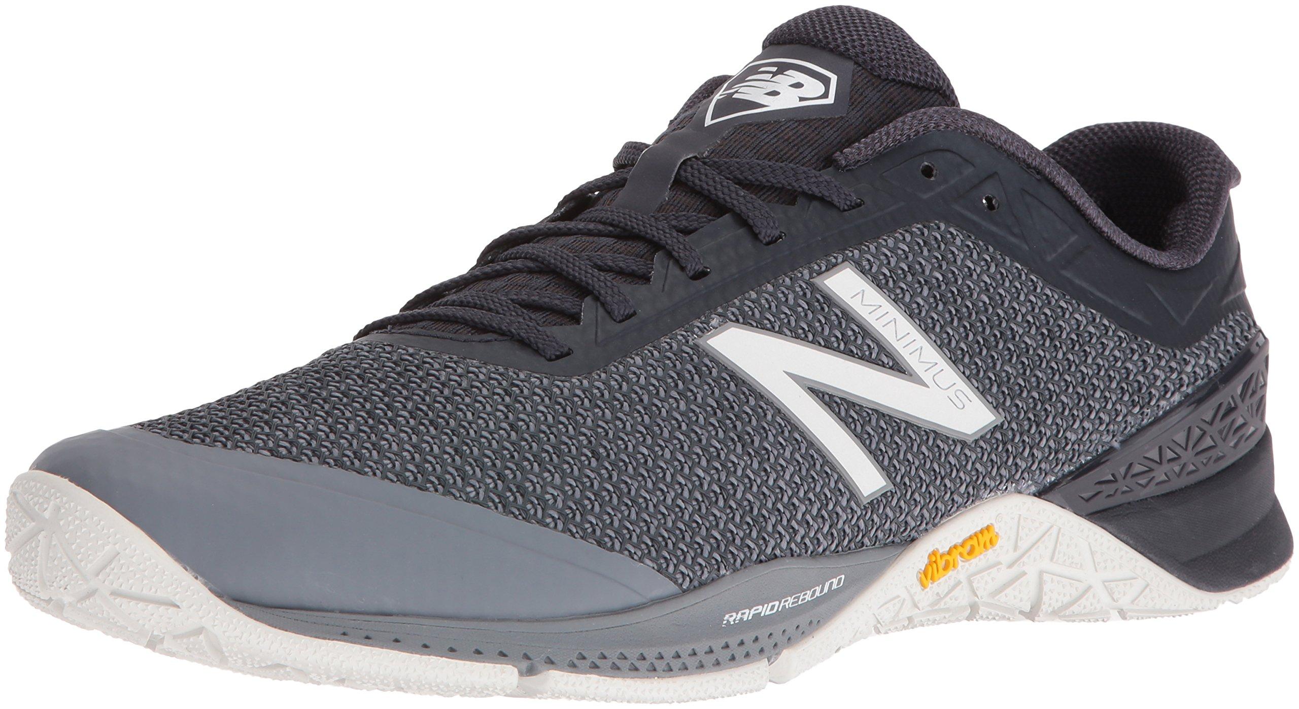 New Balance Men's MX40V1 Gym Workouts Training Shoe, Grey, 10.5 D US by New Balance