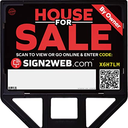 99f92a61ac03 Amazon.com   Heavy Duty Real Estate Sign Frame - Professional for ...