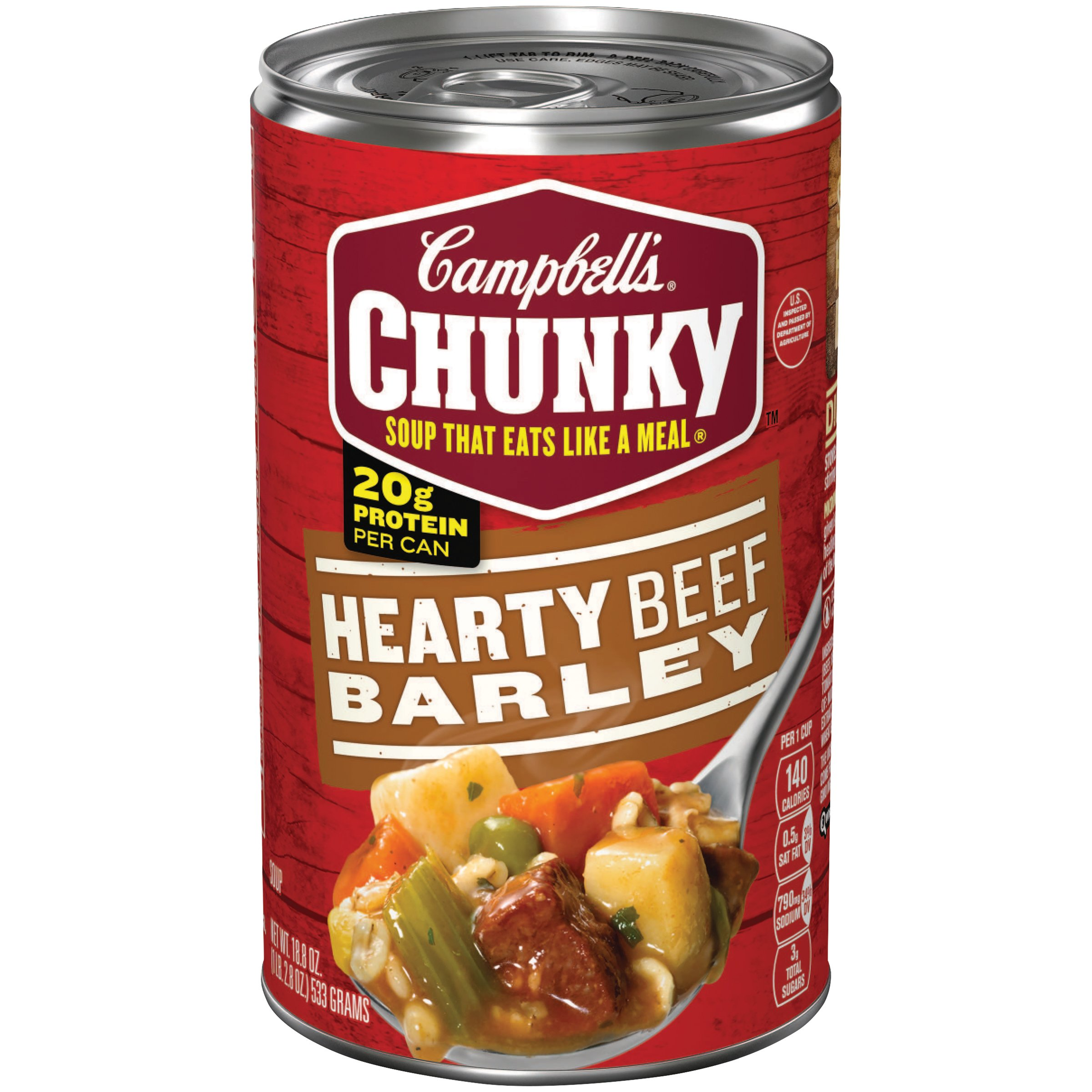 Amazon.com : Campbell's Chunky Soup, Hearty Beef Barley