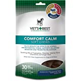Vet's Best Comfort Calm Calming Soft Chews Dog Supplements, 30 Day Supply
