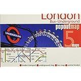 London Bus & Underground Popout Map (Popout Maps)