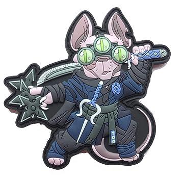 TacOpsGear Ninja Sphynx Cat Katze Killer Patch Azul Hitman ...