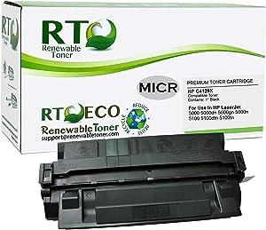 Renewable Toner Compatible MICR Toner Cartridge Replacement for HP 29X C4129X Laserjet 5000 5100